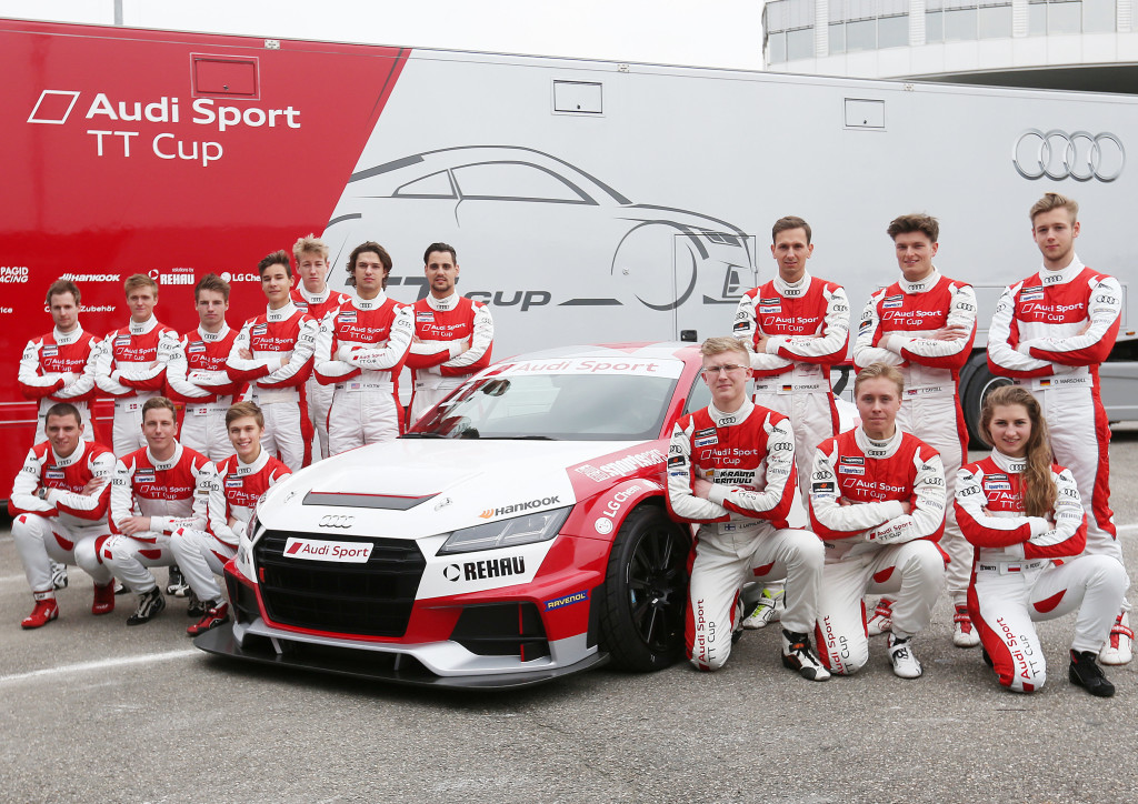 Audi Sport TT Cup Team