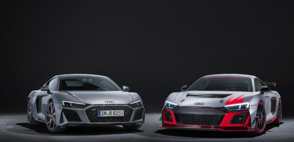 R8 V10 RWD e  R8 LMS GT4