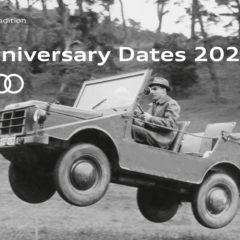 Anniversary Dates 2021