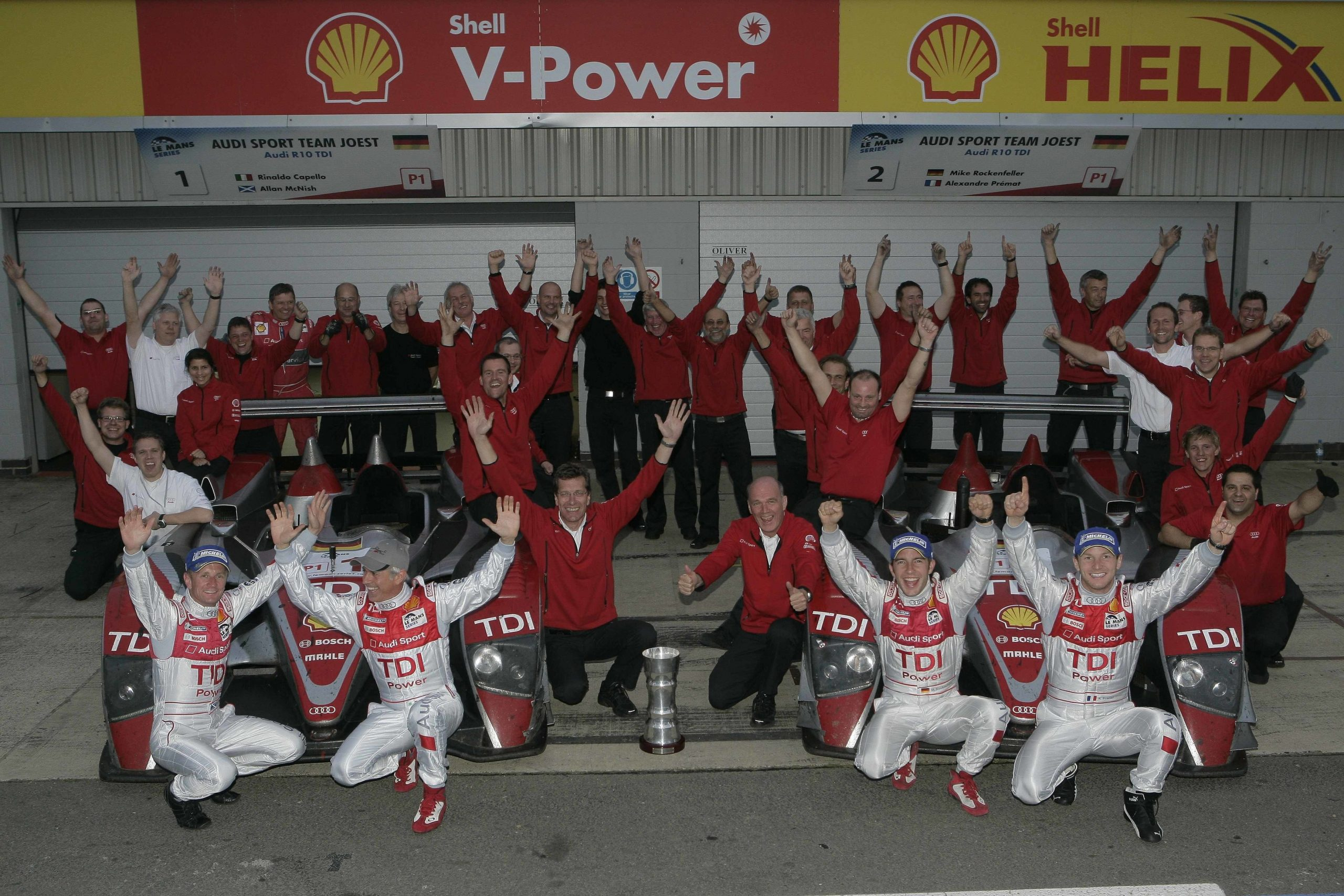 2008: Audi wins the Le Mans Series in Europe