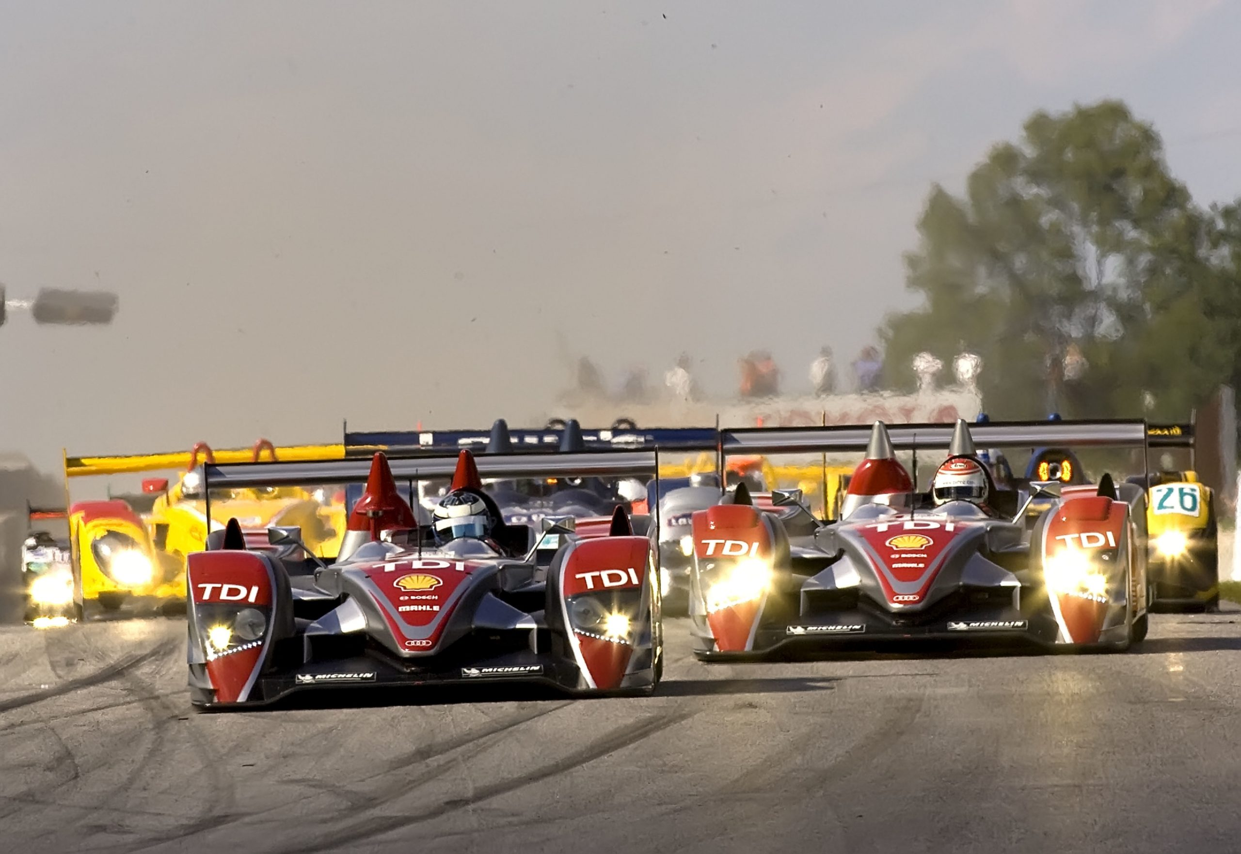 2008: Audi remains undefeated in the American Le Mans Series