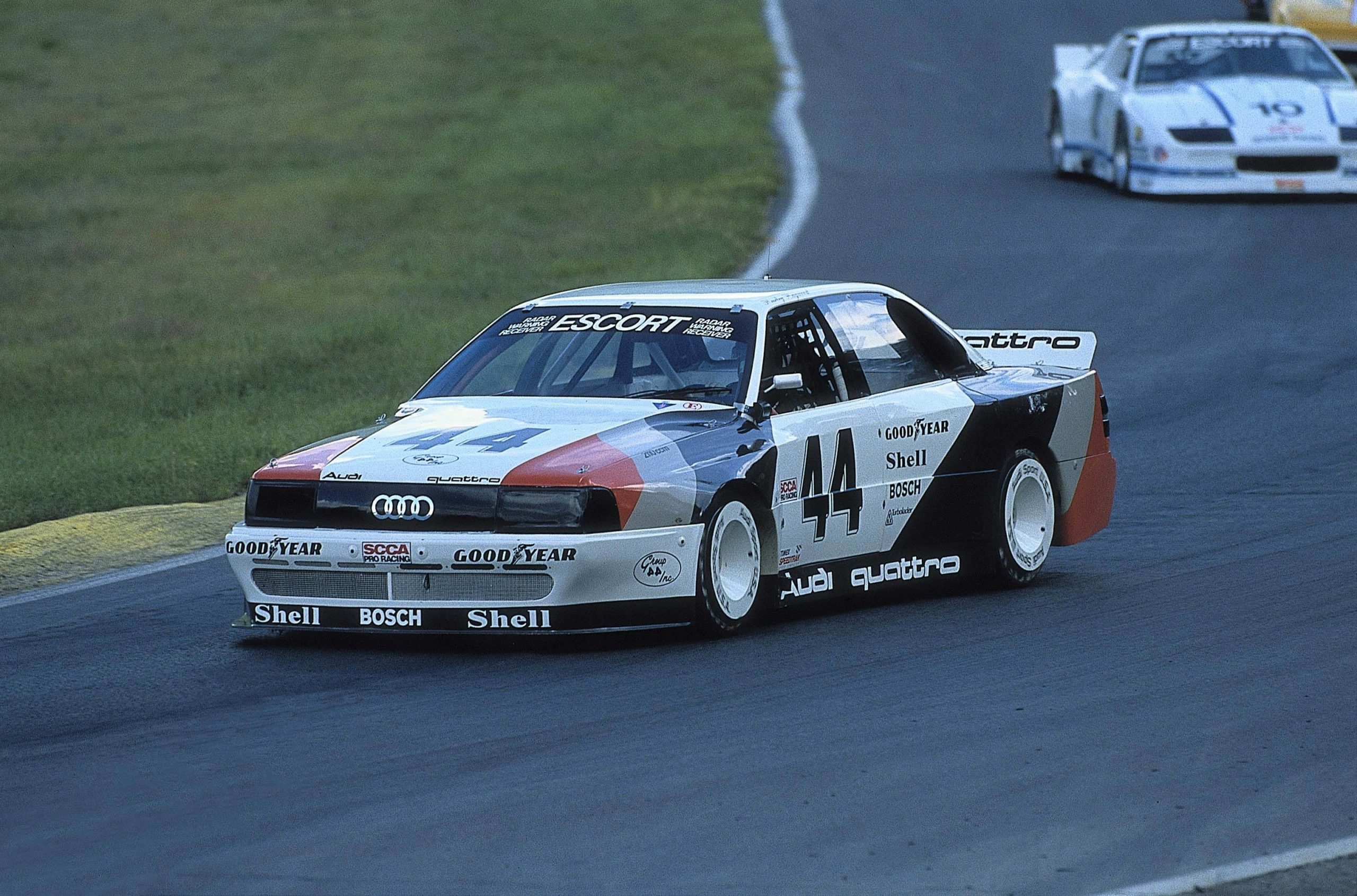 1988: Audi wins a total of eight TransAm races