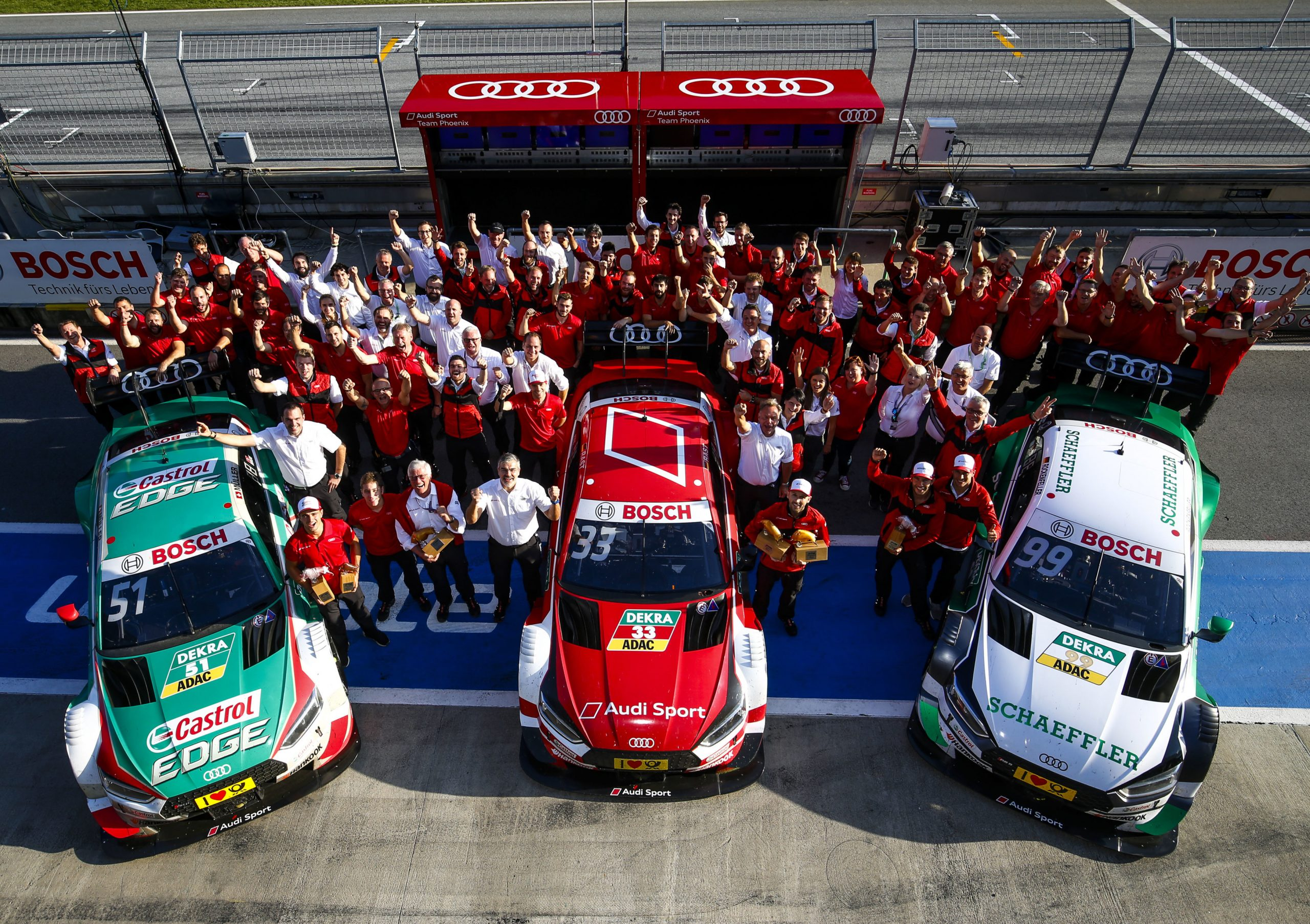 100th victory for Audi in DTM